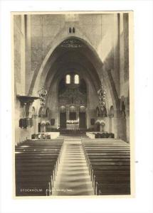RP, Interior, Engelbrektskyrkan, Stockholm, Sweden, 1920-1940s