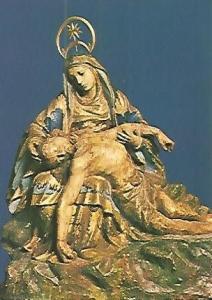POSTAL 52861: VIRGEN DE LA PIEDAD. SAO PAOLO. BRASIL