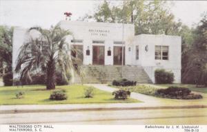 City Hall , WAL:TERBORO, South Carolina , 50-60s