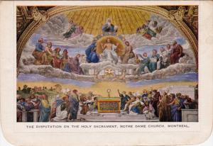 The Disputation on the Holy Sacrament , Norte Dame Church , Quebec , Canada ,...