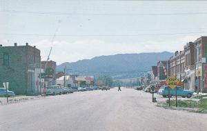 Main Street , BOULDER , Montana , 50-60s