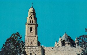 JERUSALEM, Israel, 1950-60s ; Tower of the Church of the Dormition