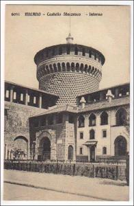 Italy - Milano. Castello Sforzesco - Interno