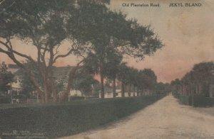 JEKYL ISLAND , Georgia , 1914 ; Old Plantation Road