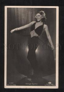 069415 Margit SYMO Movie Star & DANCER Vintage PHOTO