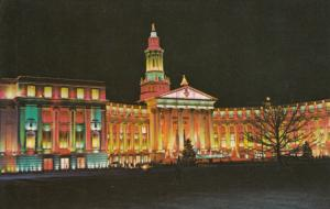DENVER, Colorado, 1940-60s; World Famous Christmas Lighting