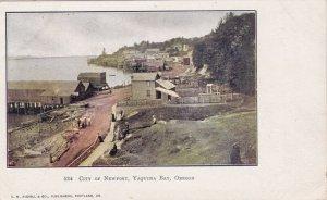 Oregon Yaquina Bay City Of Newport sk405