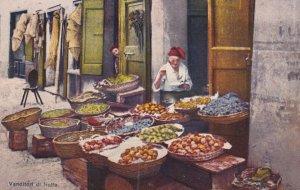ITALY, 1900-1910s; Venditori Di Frutta