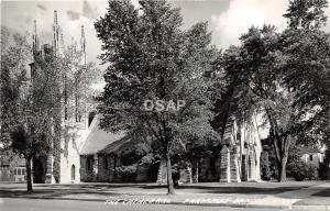 C48/ Faribault Minnesota Mn Real Photo RPPC Postcard c40s The Cathedral
