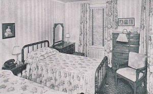 Hotel Queen Anne, Interior-Typical Bedroom, New Bern, North Carolina, 1920-1940s