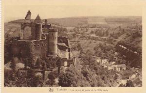 Vianden - Les Ruines et partie de la Ville haute , Luxembourg, 1910s