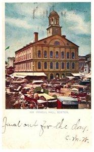 Massachusetts   Boston  Faneuil Hall