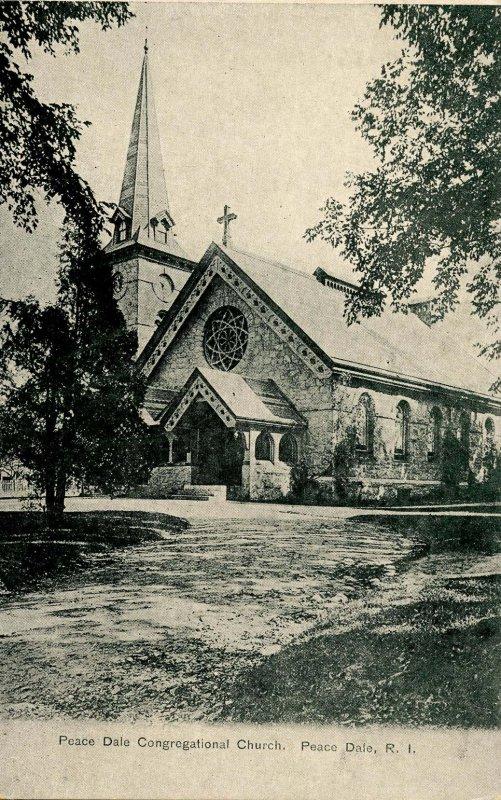 RI - Peace Dale. Peace Dale Congregational Church