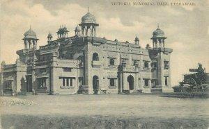 PAKISTAN Peshawar Victoria Memorial Hall early postcard