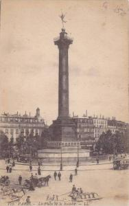 La Place De La Bastille, Paris, France, 1900-1910s