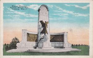 Missouri Monument, National Military Park, VICKSBURG, Mississippi, 1910-1920s