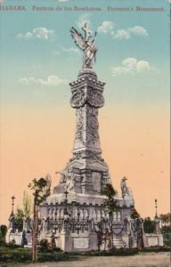 Cuba Havana Firemen's Monument