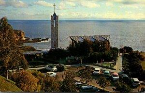 California Portuguese Bend Wayfarer's Chapel 1967