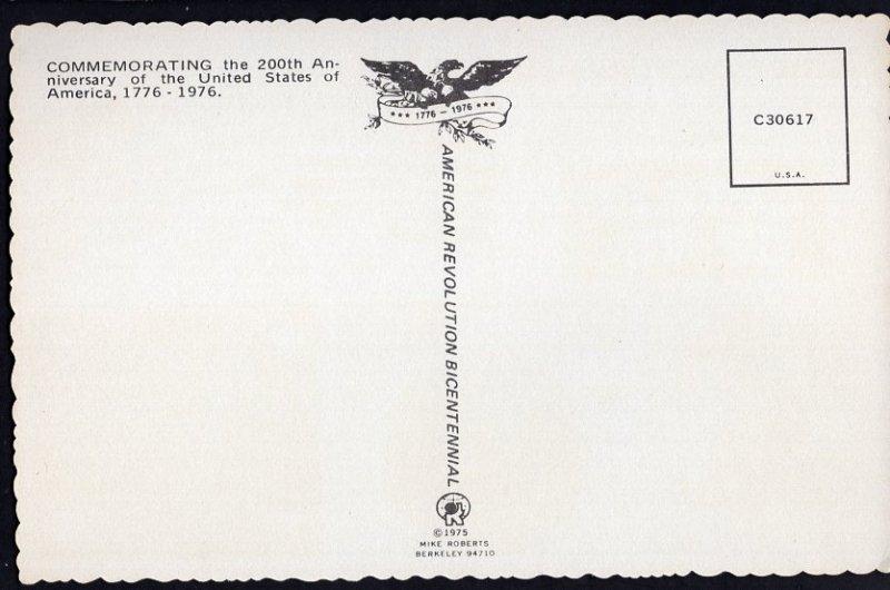 American Revolution Bicentennial - Spirit of '76 200th Anniversary - Chrome