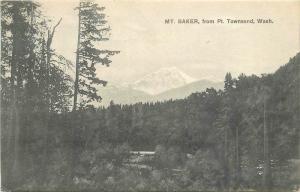 1929 Mt Baker PORT TOWNSEND WASHINGTON Sprouse Son postcard 3962