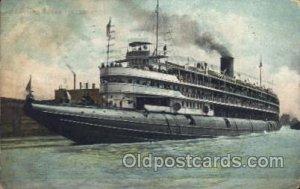 Str. Christopher Columbus Steamer, Steamers, Ship 1901 crease left top corner...