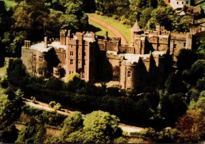 England Somerset Dunster Castle From The Air