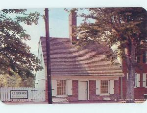 Unused Pre-1980 OLD DUTCH HOUSE MUSEUM New Castle Delaware DE hs9733@