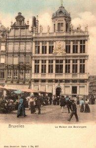Belgium Brussels La Maison des Boulangers