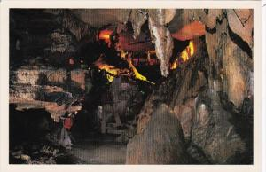 Tennessee Chattanooga The Crystal Palace Tour At Raccoon Mountain Caverns