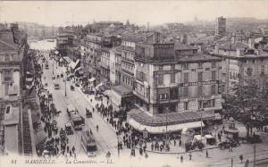 France Marseilles La Cannebiere