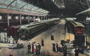 OAKLAND , California , 1900-10s; Oakland Mole, C.P. Railroad Line, Trains