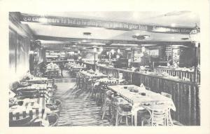 Marshall Michigan~Centennial Room Win Schuler's of Marshall Restaurant 1950s B&W