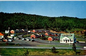 Virginia Waynesboro Skyline Parkway Motor Court