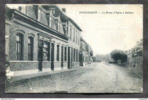 3149 - DICKENBUSCH Belgium 1910s La Rue d'Ypres a Bailleul