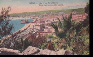 France Nice Vue prise du Chateau