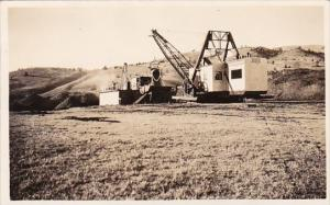 Mines Gold Dredge At Work Real Photo