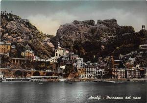 Italy Amalfi   Panorama dal mare