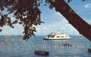 Adirondack Ferry, New York, NY USA Ferry Ship Unused