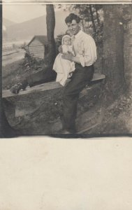 RP: LOCK HAVEN , Pa. , 1911 ; Father & Child