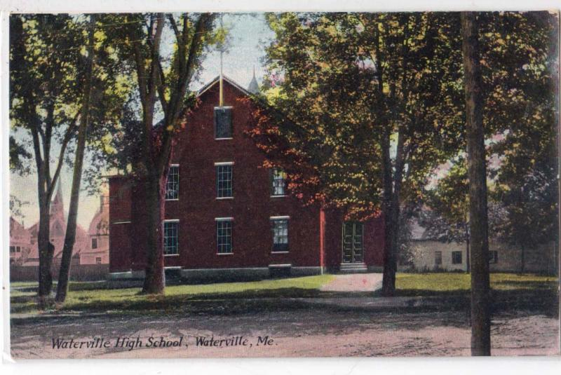 High School, Waterville ME