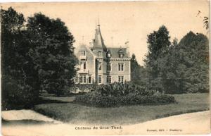 CPA  Cháteau de Gros-Theil    (181648)