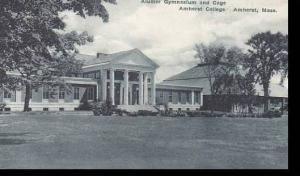Massachusetts Amherst Alumni Gymnasium and Cage  Amherst  College  Albertype