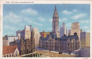 City Hall Philadelphia Pennsylvania 1937