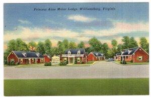 Williamsburg, Virginia, Princess Anne Motor Lodge