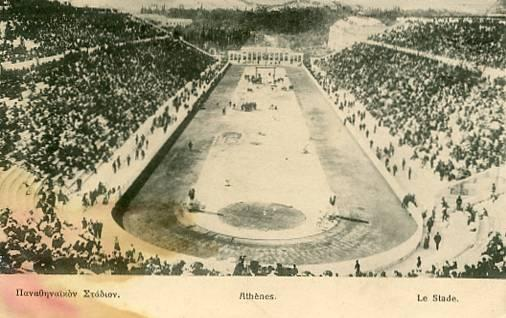 Greece - Athens. 1906 Olympics Stadium