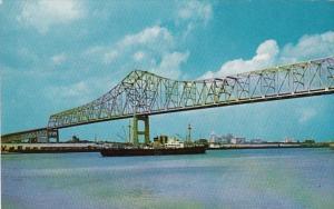 Louisiana New Orleans New Mississippi River Bridge 1962