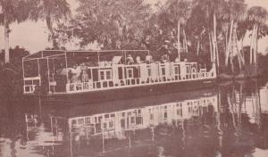 Everglades Cruise boat Lazy Bones , Florida , 1952