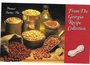 Georgia Recipe Collection Peanut Butter Pie Recipe 4 by 6 new