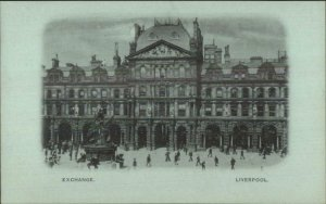 Liverpool England Early 1890s Smaller Format Postcard EXCHANGE