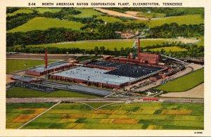 Tennessee Elizbethton North American Rayon Corporation Plant